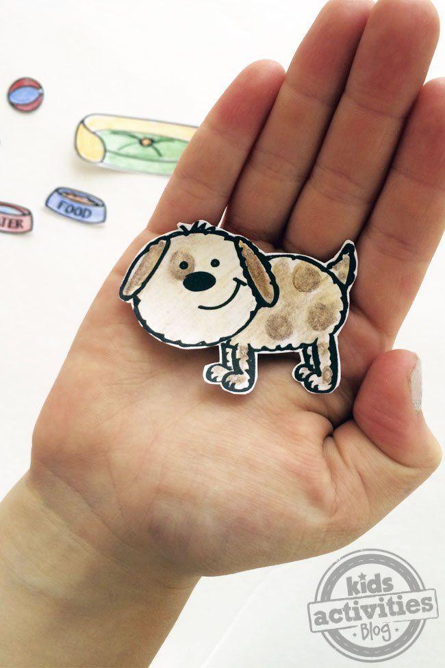 Entwerfen Sie Ihr eigenes Papier Puppe Pet Printable – kleine Sprossen – #Doll # …   – LoL Dolls