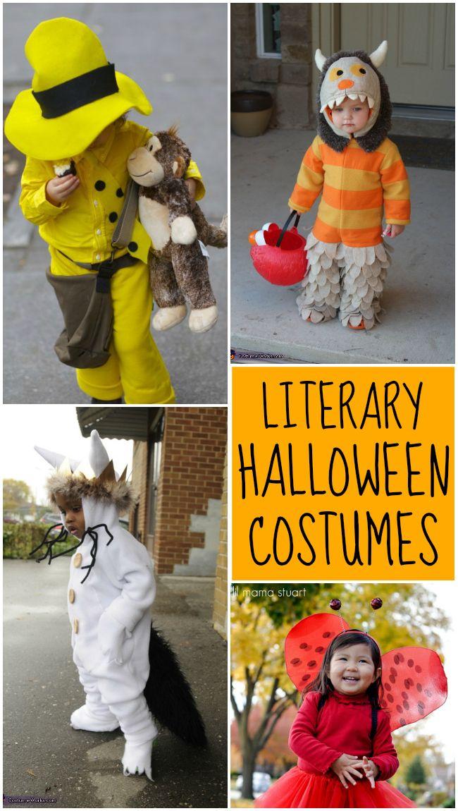 Literary Halloween Costume Ideas - Design Dazzle #DIYhalloweencostumes