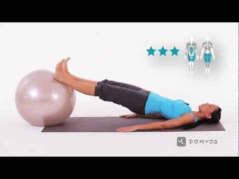 ESERCIZI VIDEO: GYM BALL | Domyos by Decathlon