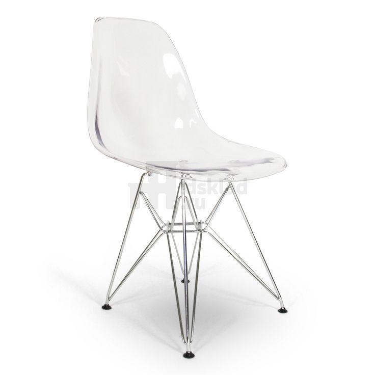 Стул Eames DSR Clear создан легендарной супружеской парой дизайнеров и архитекторов Чарльзом и Рэй Имз (Charles & Ray Eames). Это вариация стула Eames DSR, которая имеет отличительную особенность – прозрачное сиденье, что позволит использовать этот стул в совершенно различных интерьерах.Прозрачный дизайнерский стул DSR Clear представляет собой идеальное сочетание с мебелью разных стилей. Вы можете внести изменения или преобразить интерьер столовой, гостиной, спальни или кабинета. Воз...