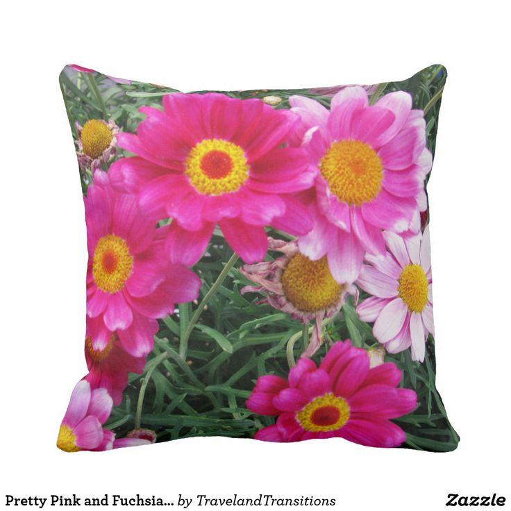 Pretty Pink and Fuchsia Daisies