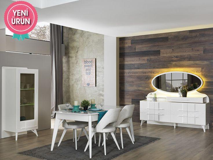 Vian Modern Yemek Odası sadeliğini ve şıklığını evinize yansıtıyor!     #Modern #Furniture #Mobilya #Pırlanta #Yemek #Odası #Sönmez #Home #EnGüzelAnlara #YeniSezon #Praga #YemekOdası #Home #HomeDesign  #Design #Decoration #Ev #Evlilik #Wedding #Çeyiz #Konfor #Rahat #Renk #Salon #Mobilya #Çeyiz  #Kumaş #Stil #Tasarım #Furniture #Tarz #Dekorasyon #Vitrin