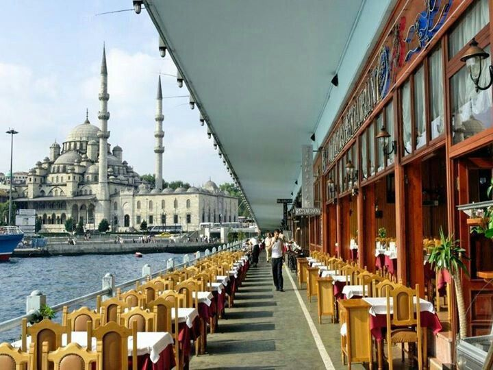 Istanbul, under the Galata bridge