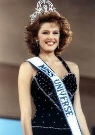 Miss Noruega - Mona Grudt - Miss Universe 1990
