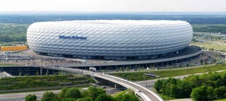 Allianz Arena Munich #munich #soccer Take a tour to visit the arena including th… – Places I've Been or I'd Like to Go