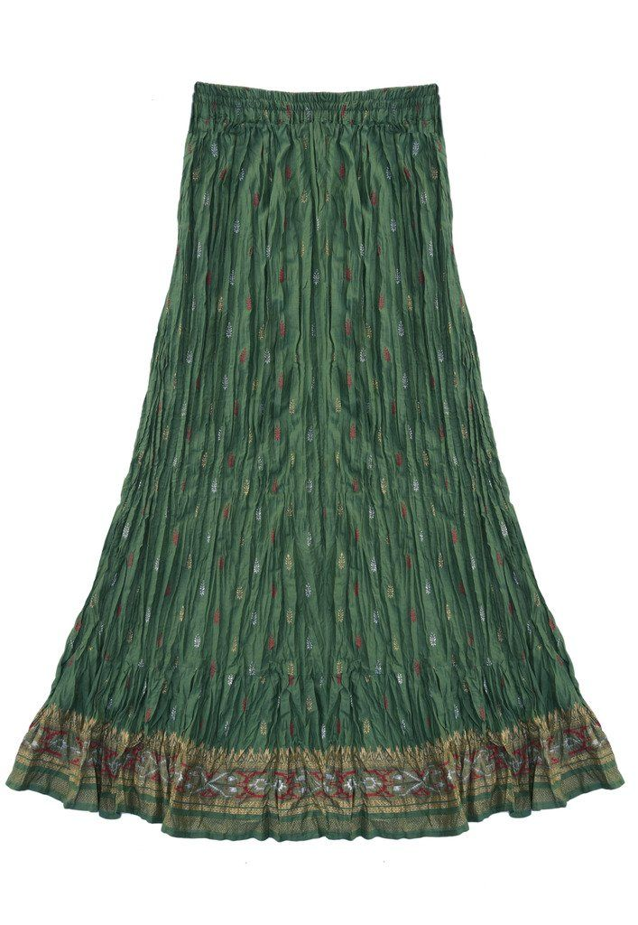 I'm not sure I've ever owned a broomstick skirt, but I wouldn't mind trying one - this one is a pretty color.