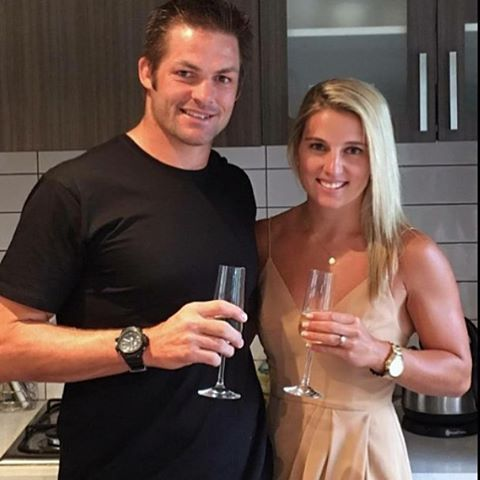 Congratulations Richie. He is engaged!