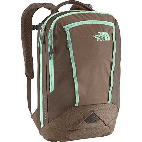 The North Face Women's Women's Microbyte Brindle Brown/Surf Green Backpack