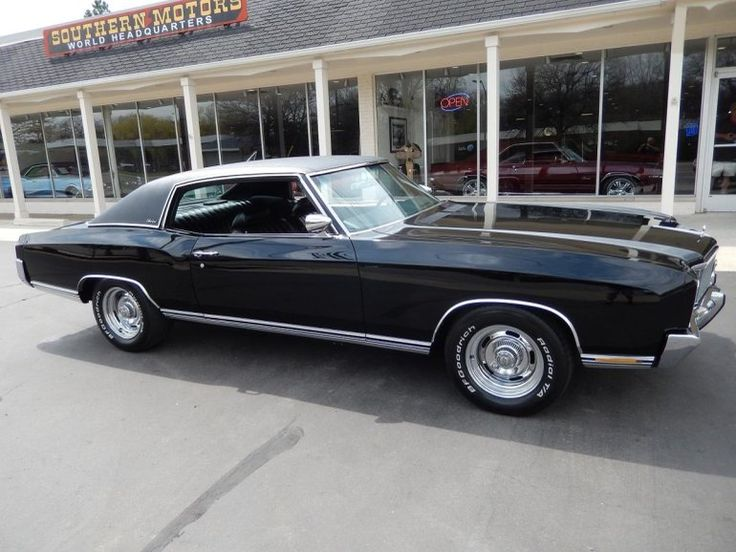 1971 Chevrolet Monte Carlo, 402 4bbl/700R4 auto/3.55 Positraction Axle