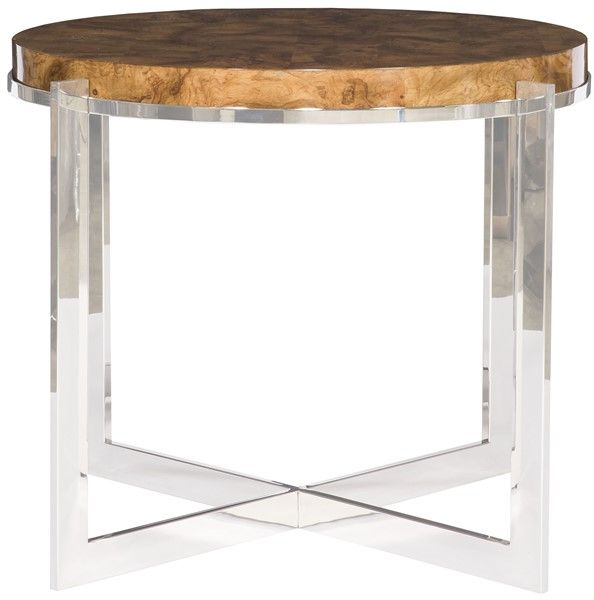 Vanguard Furniture: W334RL-NB Jasper Round Lamp Table