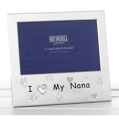"""I love my Nana"" Photo Frame"