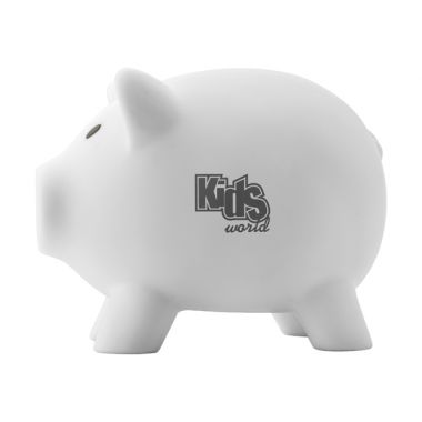 Promotional PVC Plastic piggy bank. White Piggy Bank :: Promotional Piggy Banks :: Promo-Brand Promotional Merchandise :: Promotional Branded Merchandise Promotional Products l Promotional Items l Corporate Branding l Promotional Branded Merchandise Promotional Branded Products London
