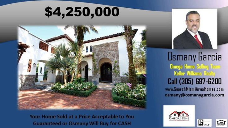 http://ift.tt/29apX8B homes for sale pinecrest fl - http://ift.tt/29fofFi Dont get stuck owning two homes. BUY THIS HOME  I WILL BUY YOURS! If you are looking to buy a home but have one to sell  you are finding yourself in the same dilemma that most homeowners find themselves in. We can help! To discuss the details of this incredible option  call Osmany Garcia directly at 305-985-6530 or for a free report on this exclusive offer and how it works visit http://ift.tt/29lPdhM   If you would…