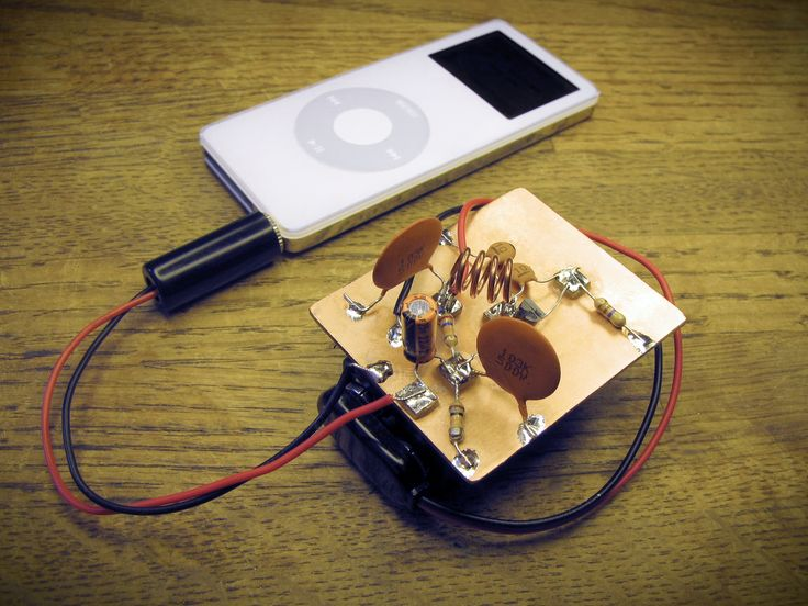 cb microphone wiring diagram super simple ipod fm transmitter projects  simple and  super simple ipod fm transmitter projects  simple and