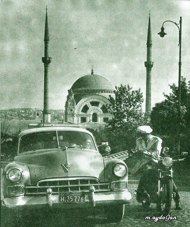 ehliyet ve ruhsat lütfen İstanbul, 1950'li yıllar.