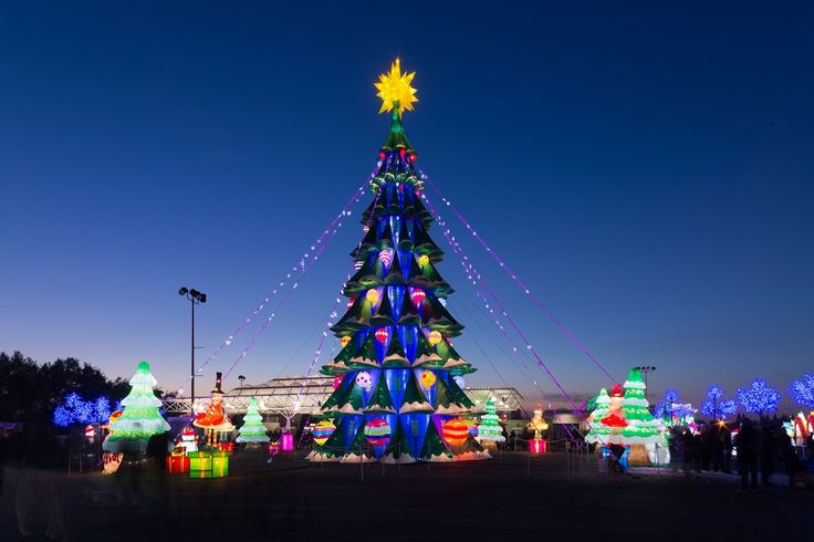 Spend the holidays with your family and friends at Global Winter Wonderland at Cal Expo!
