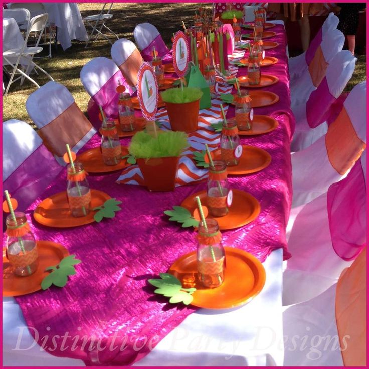 Little Pumpkin Birthday Party Ideas | Photo 8 of 17 | Catch My Party