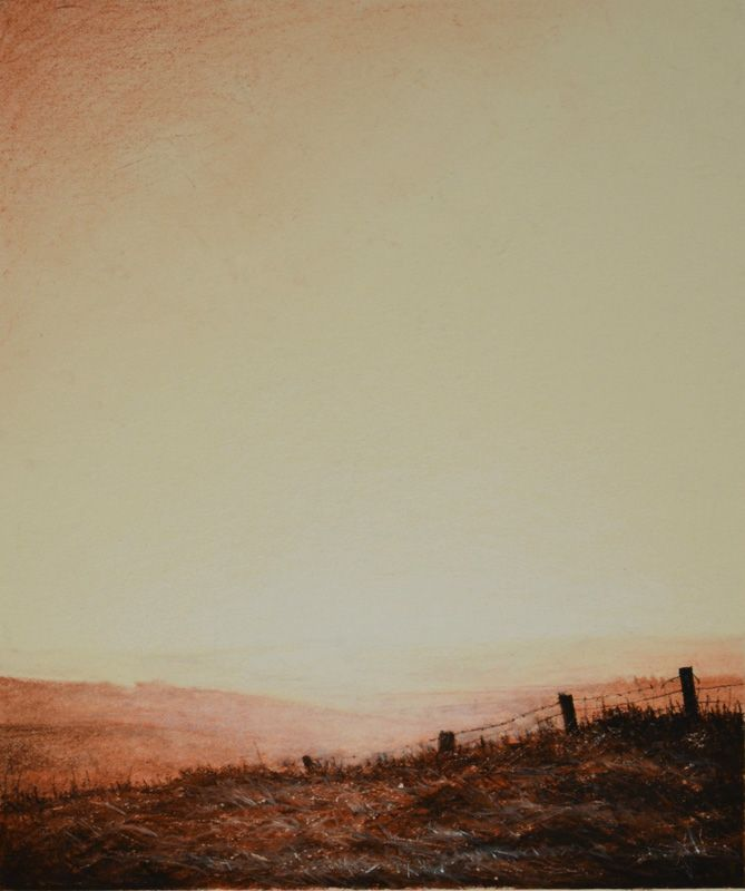 the rickity fence in the sidlaws by phil edwards