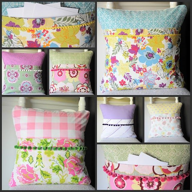 hide memory verse cards inside these adorable pillows love