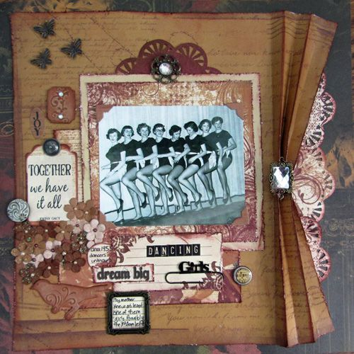 29 best images about Dance Scrapbook pages and objects on