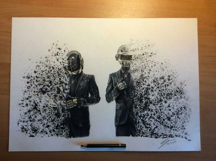 Daft Punk A3