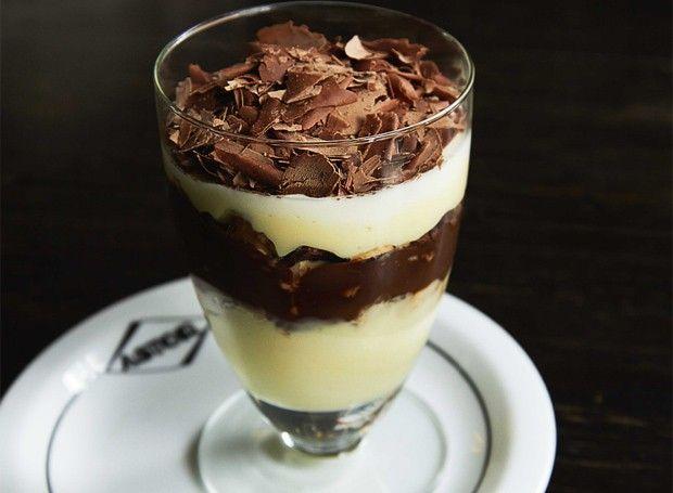 Pavê de Sonho de Valsa | Receita | Chocolate Recipe (Foto: Bruno Geraldi/Divulgação)