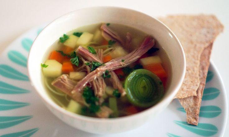 Lag pinnekjøtt-suppe à la LOKK av restene av pinnekjøtt | EXTRA -