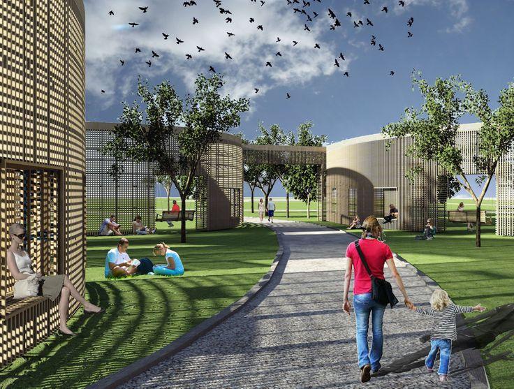 Wooden Park Pavilion