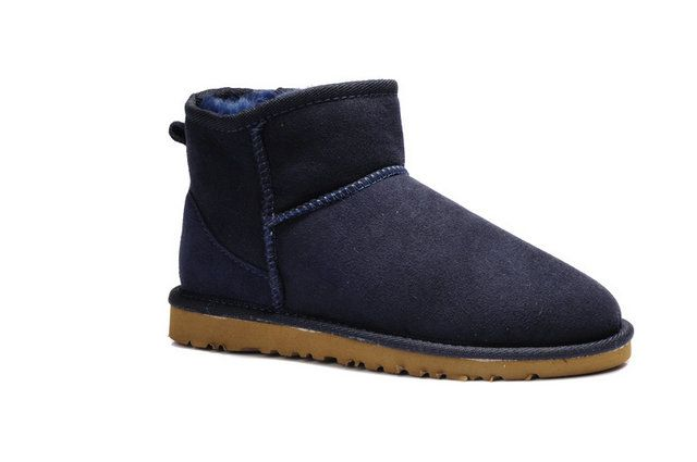 e9c922ba50 sweden ugg womens rella suede mini sheepskin boots black image 1 20ad9  34952; new arrivals snow boots 5854 model0001 c8946 79139