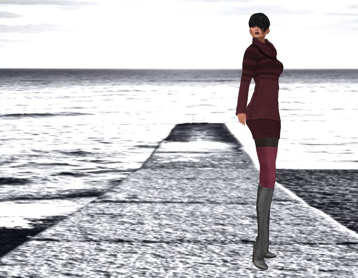 To reach a port we must sail, sometimes with the wind, and sometimes against it. But we must not drift or lie at anchor. Oliver Wendell Holmes, Sr.    DRESS: Ghee Cosy Sweater Dre…