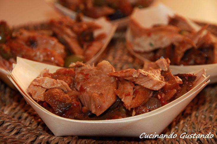 Caponata siciliana e ventresca di tonno Coalma! #delicious by Tonia