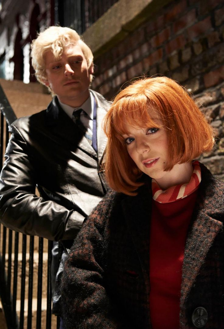 Sheridan Smith and Aneurin Barnard in Cilla an itv mini series about Cilla Black. I loved it. They were both great.