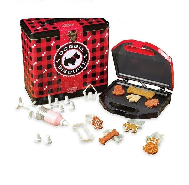 A little doggy treat maker that provides a fun activity for you and a tasty one for your pup.