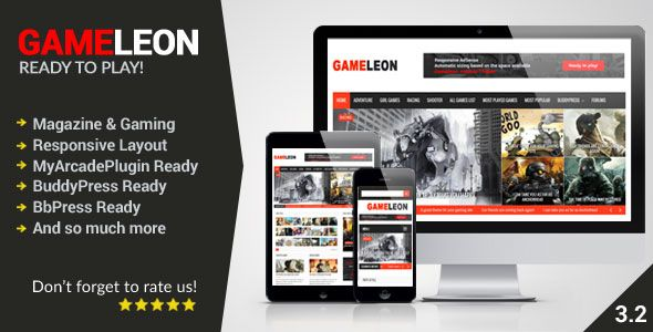 Gameleon es una solución completa. Usted puede tener su propia página web de juegos utilizando este template ideal para juegos en línea. También puede utilizarlo para cualquier otro propósito: blog, periódico, revista o editorial.  Incluye instalación de la plantilla, configuración y cambios de imágenes y textos, dominio .com, hosting Profesional, y soporte gratuito por todo un año.  http://ivanfiestas.com/tienda/plantillas-web-wordpress/gameleon-revista-o-juegos