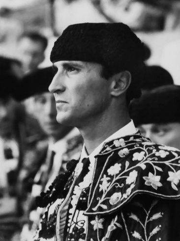 Luis Miguel Dominguin (1926 - 1996) Very famous Spanish Bullfighter who once fell in love with China Machado, the model. They ran away together making a huge scandal at that moment.
