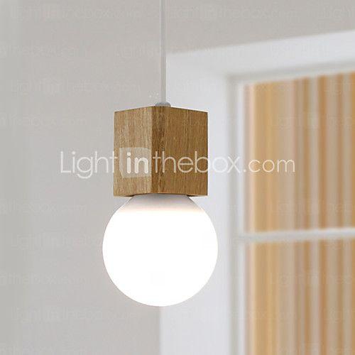 Max 60W Riipus valot ,  Moderni Muut Ominaisuus for Minityyli Puu/bambuLiving Room / Makuuhuone / Ruokailuhuone / Kitchen / Kylpyhuone / - EUR €45.07