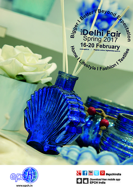 Thoughtfully concocted home fragrances & diffusers in azure themes and more at IHGF Delhi Fair-Spring 2017