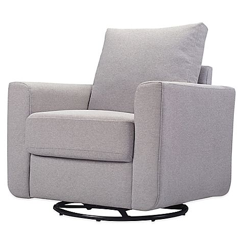 Babyletto's Bento Glider will be your favorite place to nurse, read to your baby, or soothe your little one to sleep. Featuring a swivel and glide mechanism and a sleek silhouette, this contemporary glider offers the ultimate blend of comfort and style.