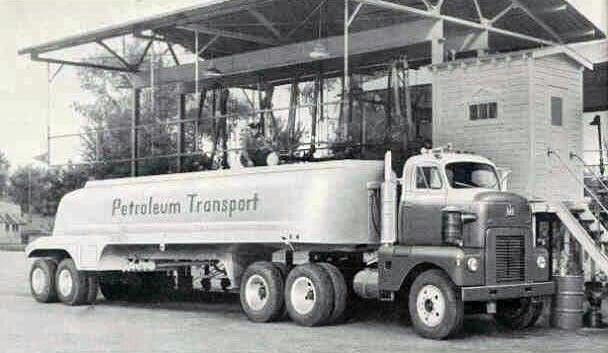 International Harvester Fuel Truck, similar to the Tootsey Toy of nthe 50's early 60's