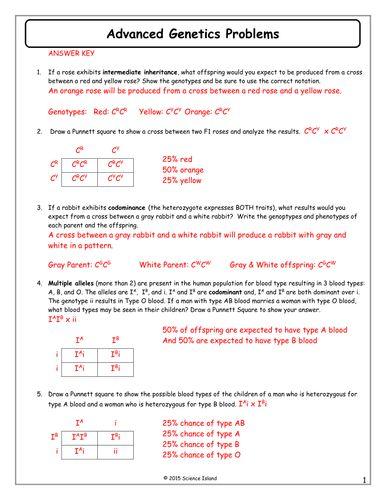 11-Advanced-Genetics-Problems-Answer-Key.docx   Genetics ...