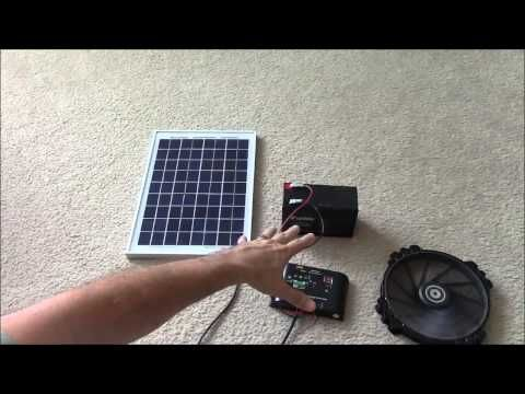 Solar Panel Systems for Beginners - Pt 1 Basics Of How It Works & How To Set Up - YouTube