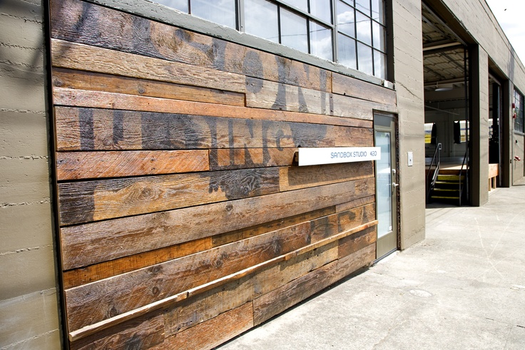 15 best rustic garage doors images on pinterest wood for Reclaimed flooring portland