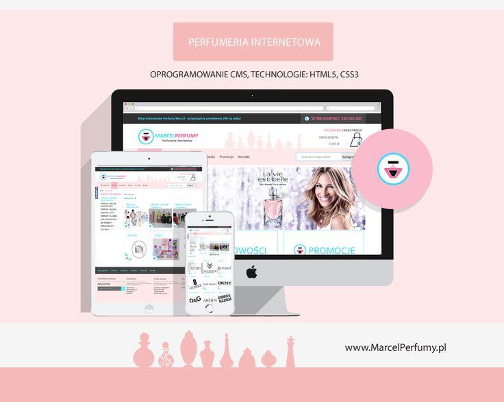 Stworzenie sklepu internetowego z perfumami : www.marcel-perfumy.pl oryginały i zamienniki #perfumy #cosmetics #estore #shoponline #ecommerce #mimo