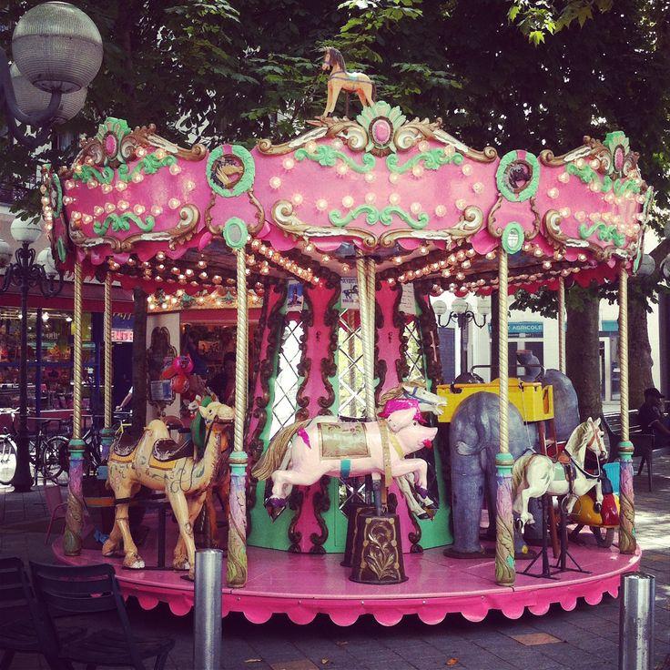 Carrousel. Tours, France.