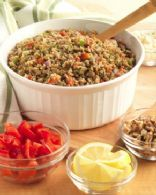 Herbed Bulgur and Lentil Salad Recipe | SparkRecipes