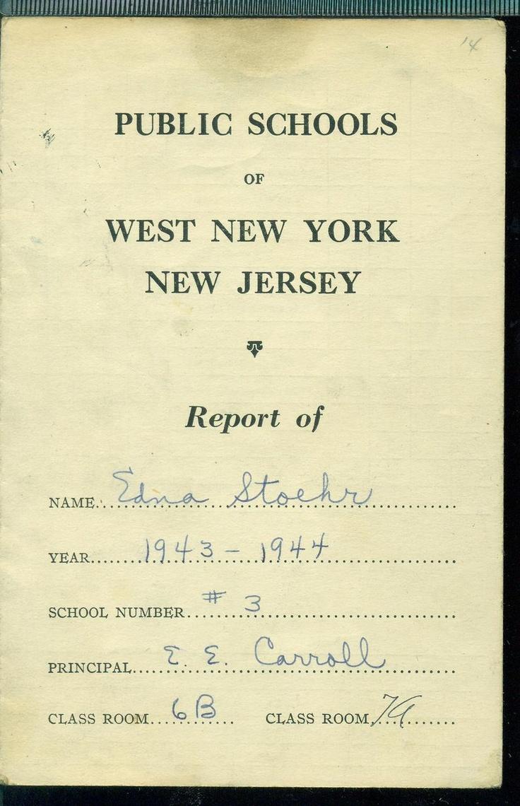 Report Card Elementary School