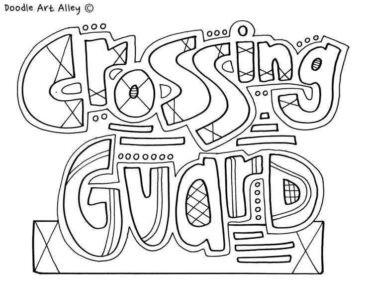 School People Coloring Pages At Classroom Doodles