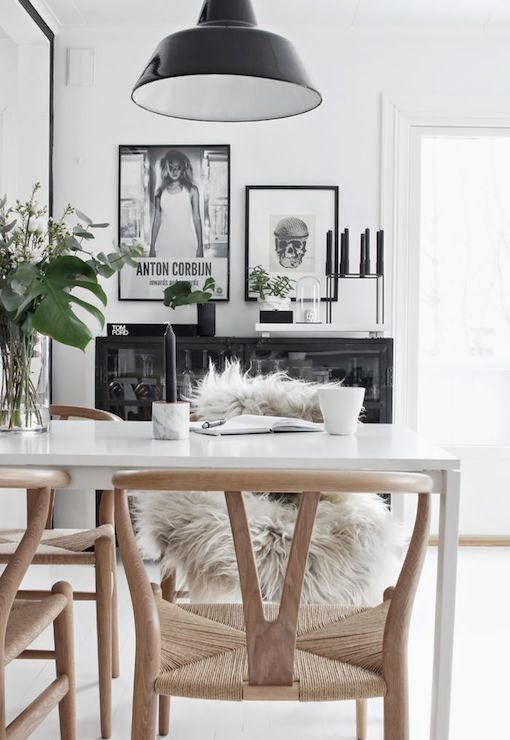 home inspiration: BLACK & TIMBER | bellaMUMMA