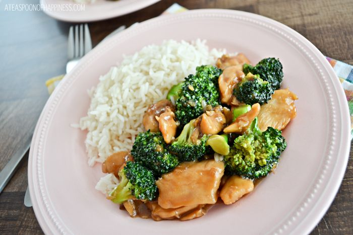 Check out Chinese Chicken and Broccoli. It's so easy to ...