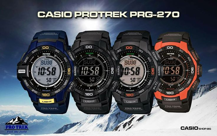 www.orologidal1958iervolino.it CASIO PRO TREK